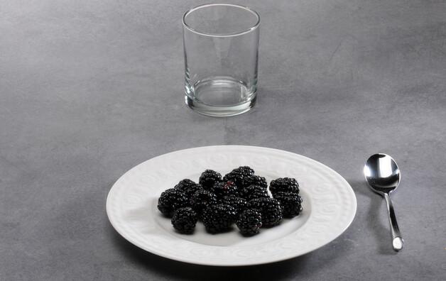 Mûre noire (du mûrier), fraîche