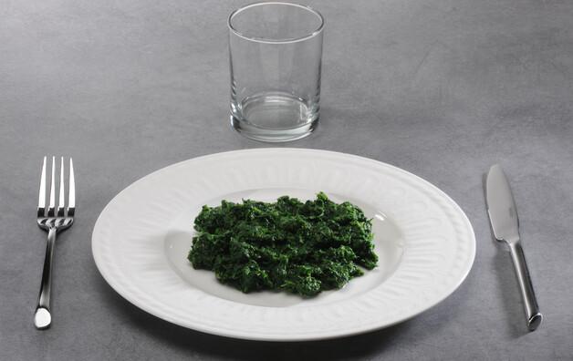 Épinard, cuit