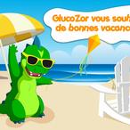 Départ de GlucoZor® en vacances